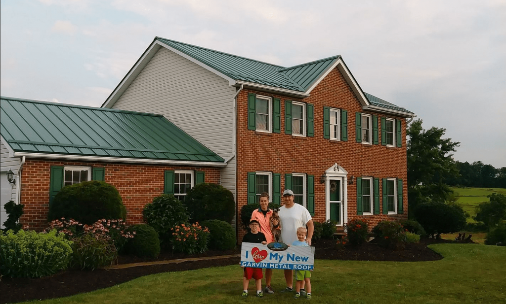 Columbus Affordable Metal Roofing Garvin Construction